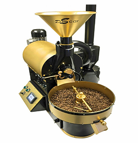 Coffee roaster machine